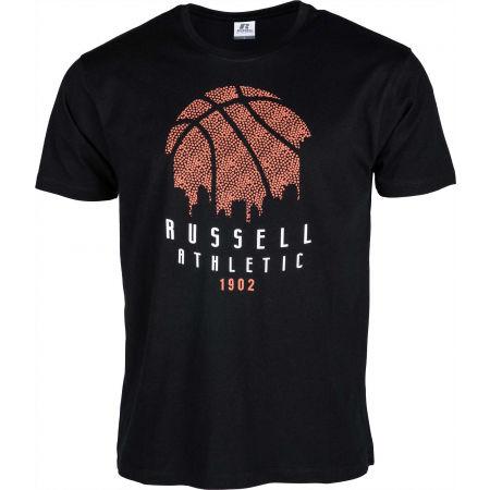 Russell Athletic B BALL SKY LINE S/S CREWNECK TEE SHIRT