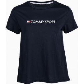 Tommy Hilfiger COTTON MIX CHEST LOGO TOP