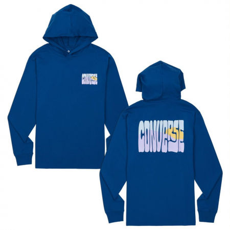 Converse LS HOODED GRAPHIC TEE