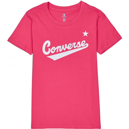 Converse WOMENS NOVA CENTER FRONT LOGO TEE