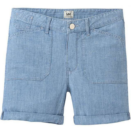 Lee SEASONAL SHORT BLEACHBEACHBLUE