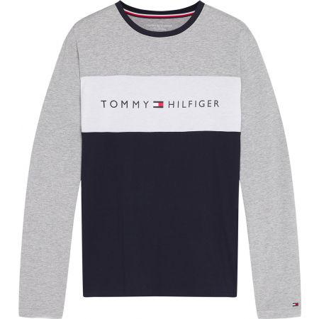 Tommy Hilfiger CN LS TEE LOGO FLAG