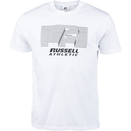 Russell Athletic STRIPED S/S TEE