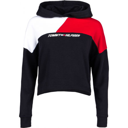 Tommy Hilfiger RELAXED COLOUR BLOCK HOODIE LS