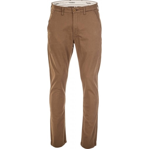 CHINO BUTTER BRONZE - Pánske nohavice