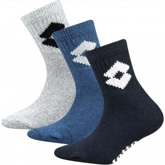 PONOŽKY 6 - 3 PÁRY - Detské ponožky