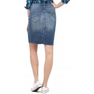 Dámska denimová sukňa