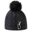 Dámska zimná čiapka s jeleňou brožou Deers