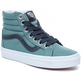 Vans OVERSIZED LACE SK8-HI REISSUE SILVER PINE-TRUE WHITE
