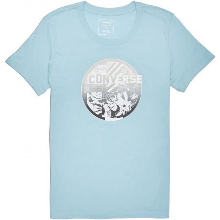 Converse FLORAL COLLAGE CREW TEE