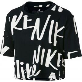 Nike W NSW TEE NIKE AOP CROP