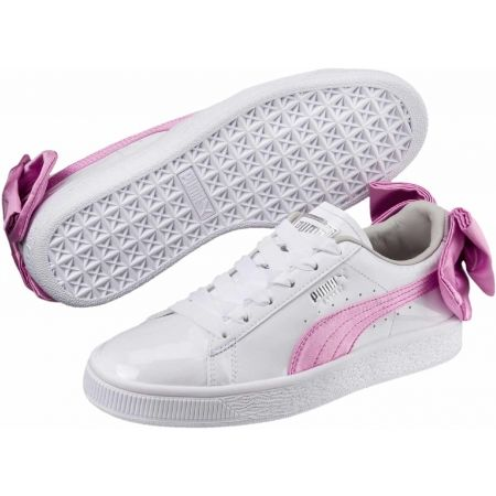 Puma BASKET BOW PATENT JR