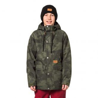 Chlapčenská lyžiarska/snowboardová bunda