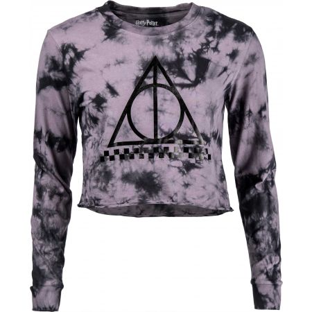 Vans WM DEATHLY HALLOWS CROP LS HARRY POTTER