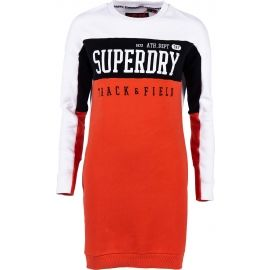 Superdry PANEL SLEEVE SWEAT DRESS