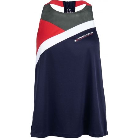 Tommy Hilfiger BLOCKED HIGH NECK TANK LOGO