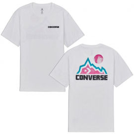 Converse MOUNTAIN MOON GRAPHIC SHORT SLEEVE T-SHIRT