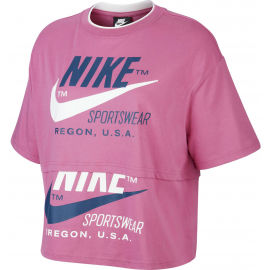 Nike NSW ICN CLSH SS TOP W